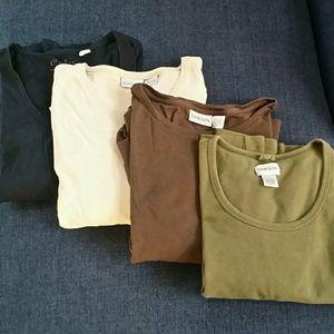 Bundle Of Chico's T-Shirts